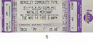 Natalie Merchant1990s Ticket