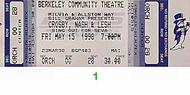 David Crosby 1990s Ticket