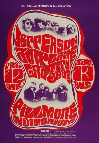 Jefferson AirplanePostcard