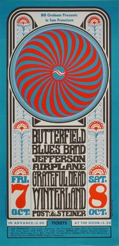 The Paul Butterfield Blues BandHandbill