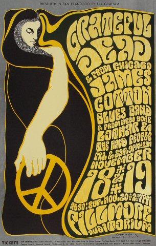 Grateful Dead Poster from Nov 18, 1966