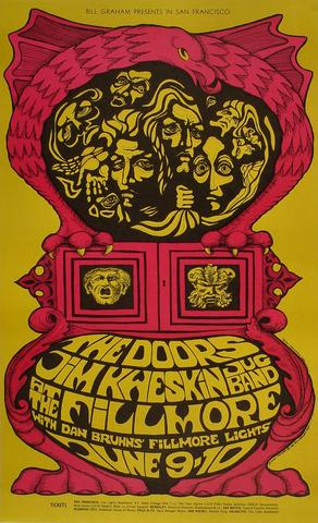 The Doors Postcard