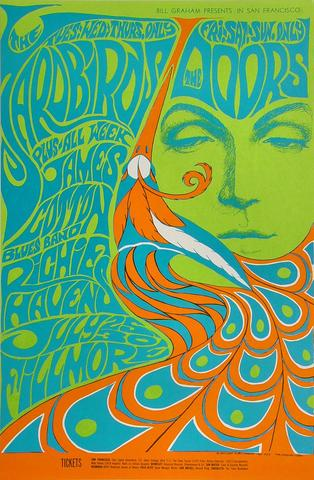 Yardbirds Poster from Jul 25, 1967