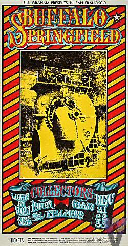 Buffalo Springfield Handbill