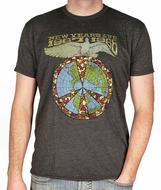 Jefferson Airplane Men's Retro T-Shirt from Dec 31, 1967