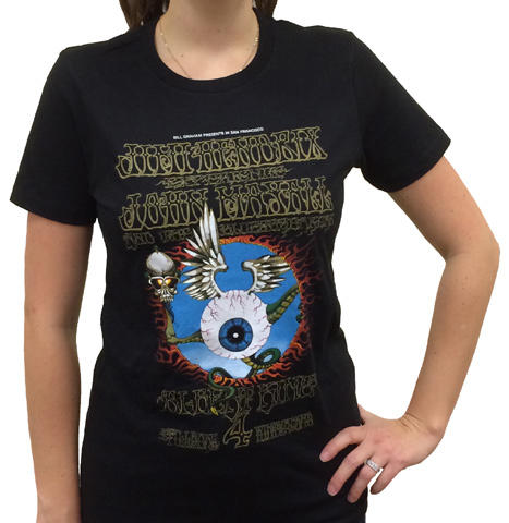 Jimi Hendrix ExperienceWomen's T-Shirt