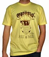 Cream Men's Retro T-Shirt from Mar 7, 1968