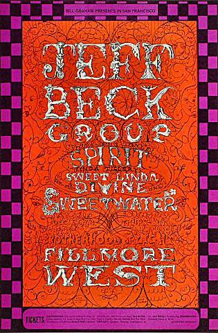 Jeff Beck GroupPostcard