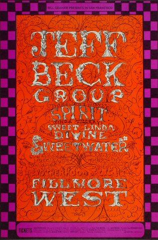 Jeff Beck GroupPoster