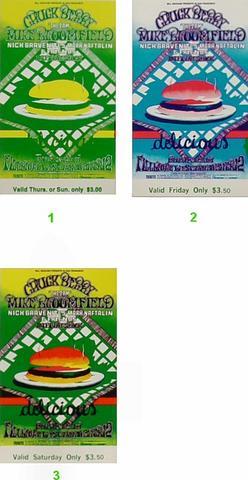 Chuck BerryVintage Ticket