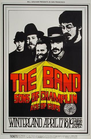 The Band Postcard