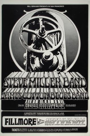 Steve Miller BandHandbill