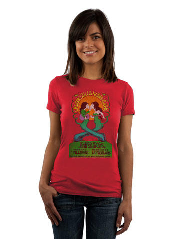 Crosby, Stills, Nash & Young Women's Retro T-Shirt