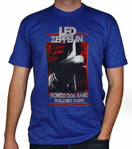 Led ZeppelinMen's Retro T-Shirt from Nov 6, 1969