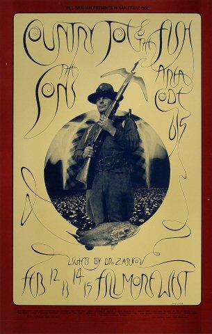 Country Joe &amp; the FishPoster