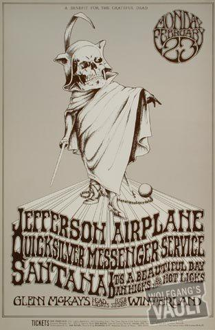 Jefferson AirplaneHandbill