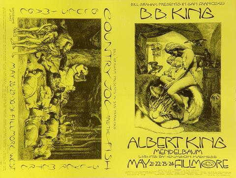 B.B. King Postcard