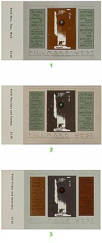 The ByrdsVintage Ticket