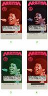 Aretha Franklin1970s Ticket