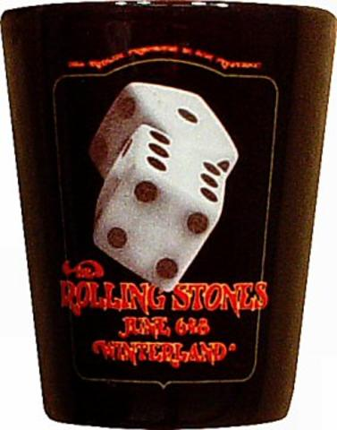 The Rolling Stones Retro Shotglass