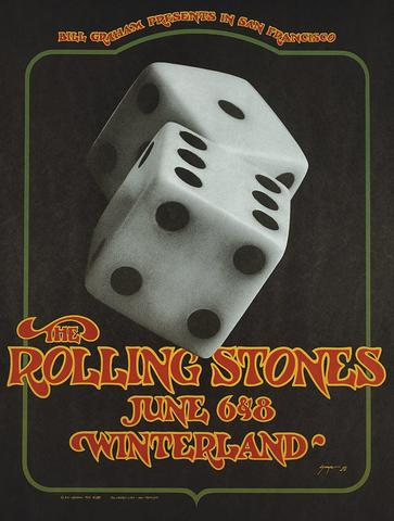 The Rolling Stones Poster from Jun 6, 1972