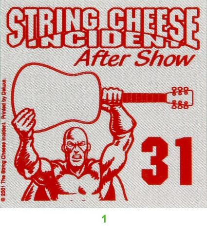 String Cheese IncidentBackstage Pass