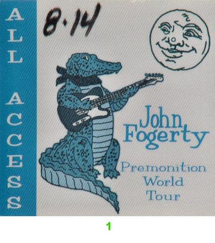John Fogerty Backstage Pass