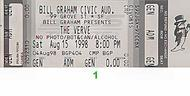 The Verve 1990s Ticket