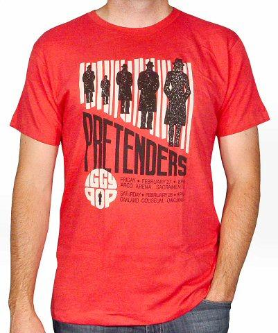 The PretendersMen's Retro T-Shirt