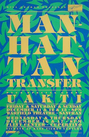 Manhattan TransferPoster