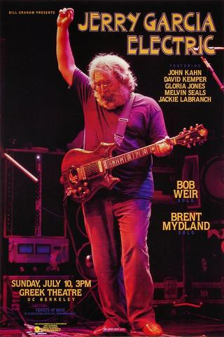Jerry Garcia BandPoster