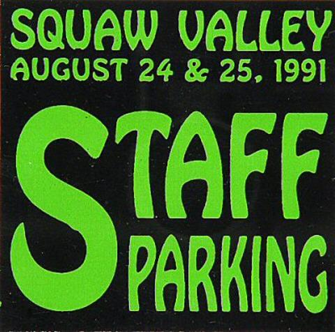 Squaw Valley Summer Music Festival Sticker