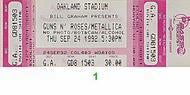 Guns N' Roses1990s Ticket