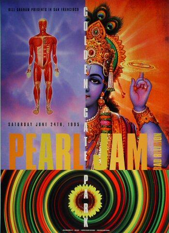 Pearl Jam Poster from Jun 24, 1995