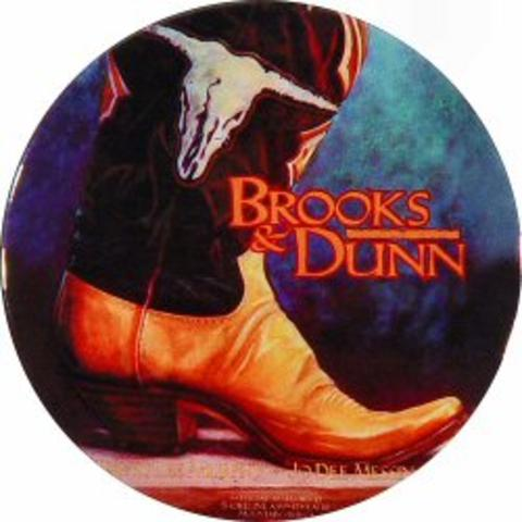 Brooks & Dunn Pin