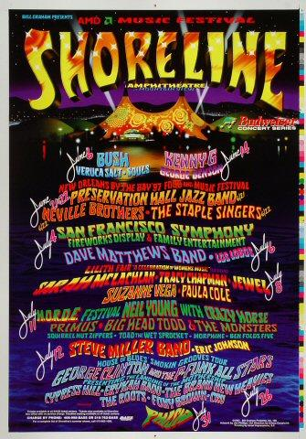 Shoreline Amphitheatre: June/July Proof