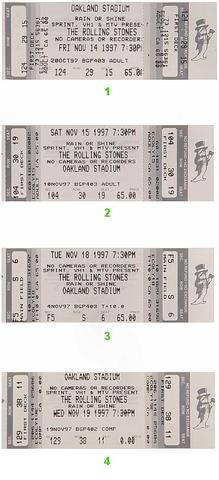 The Rolling StonesVintage Ticket