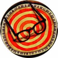 Elvis Costello Retro Pin