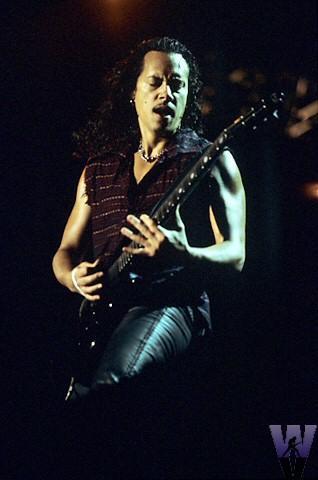 Kirk HammettFine Art Print