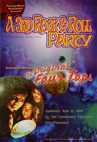 A 3rd Rock & Roll Party Poster