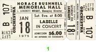 LaBelle1970s Ticket
