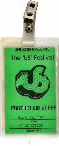 US Festival Laminate
