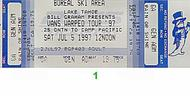 Social Distortion 1990s Ticket