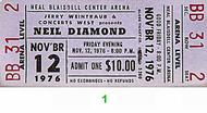 Neil Diamond 1970s Ticket