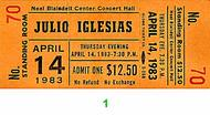 Julio Iglesias1980s Ticket