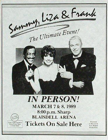 Sammy Davis Jr.Handbill