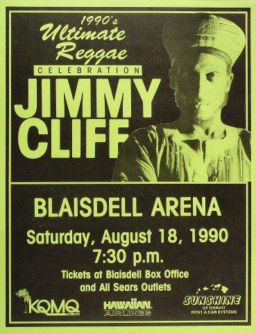 Jimmy Cliff Poster