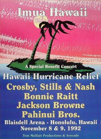 Benefit for Hawaii Hurricane Relief Poster