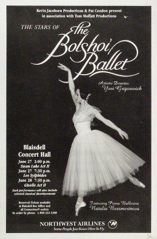 The Bolshoi Ballet Poster