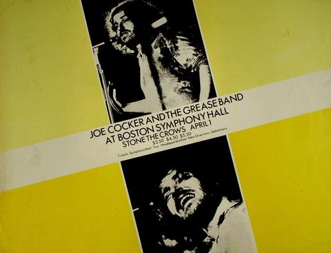 Joe Cocker & The Grease Band Poster